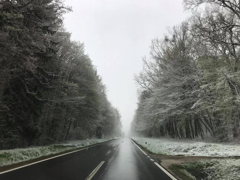 Travanjski prizori iz Prigorja; bijeli se sve