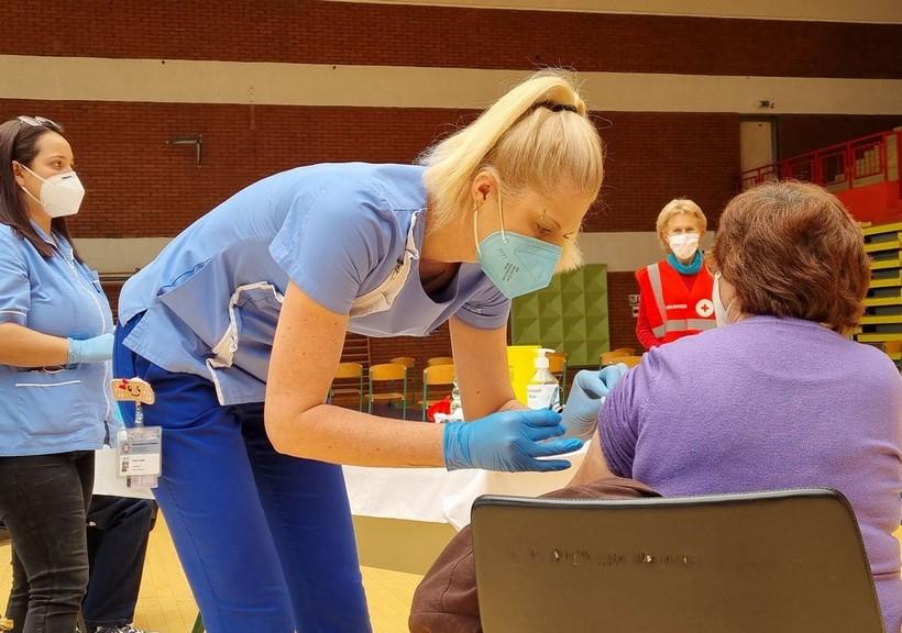 Dulibić: 'Prvom dozom cijepljeno 55 posto odraslog stanovništva'