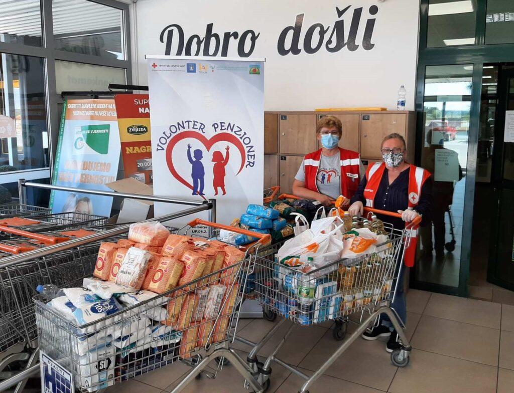 Za Socijalnu samoposlugu u koprivničkom KTC-u prikupljeno 264 kilograma hrane