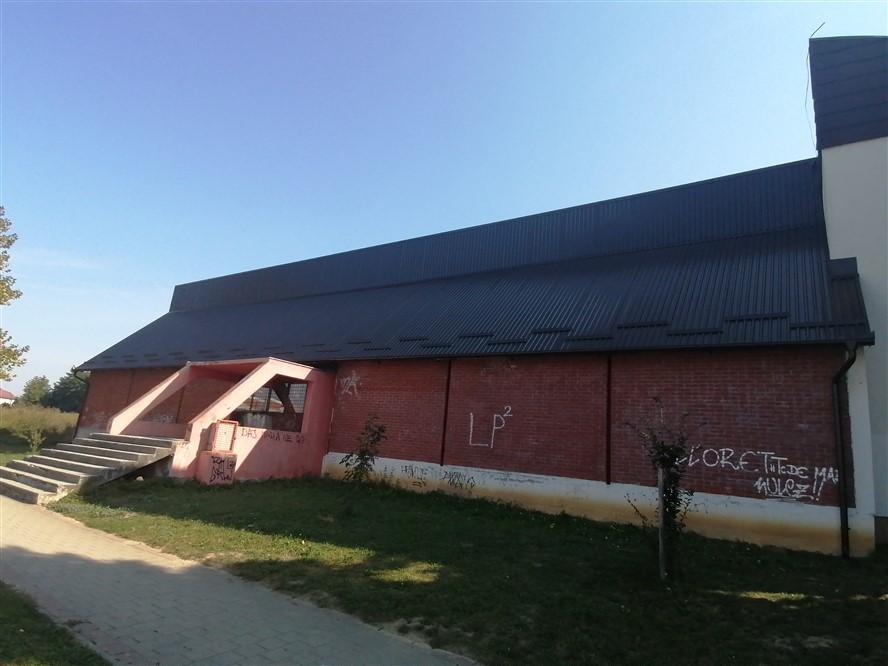 Obnovljeno krovište i sjeverni zid dvorane Gimnazije Ivana Zakmardija Dijankovečkoga Križevci