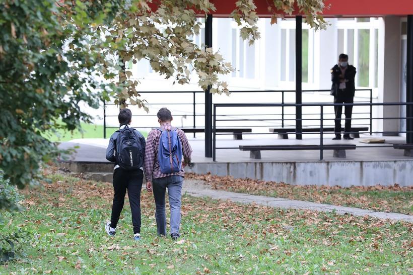 'Dječak bez maske' iz Krapinskih Toplica prvi put na nastavi nakon dva tjedna