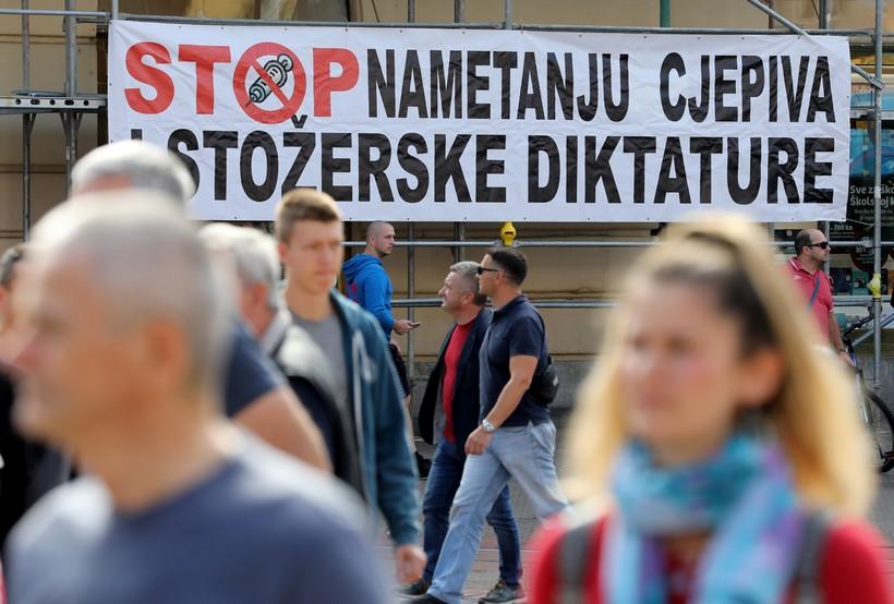 Počeo Festival slobode 2.0: 'Stop nametanju cjepiva i stožerske diktature'