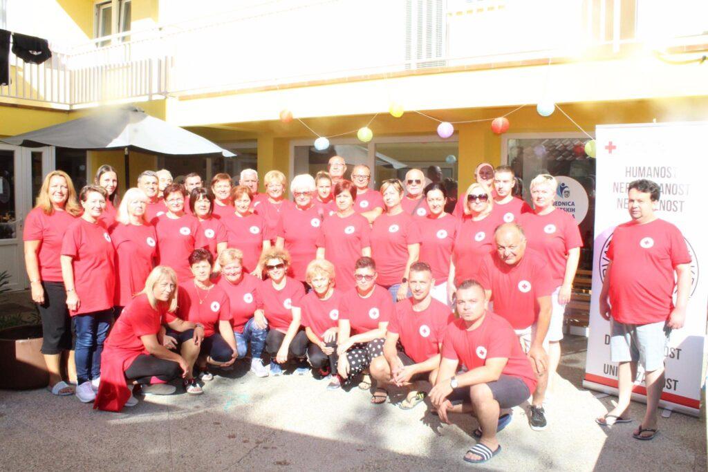 Društvo Crvenog križa Koprivničko-križevačke županije organiziralo edukaciju za članove Županijskog interventnog tima