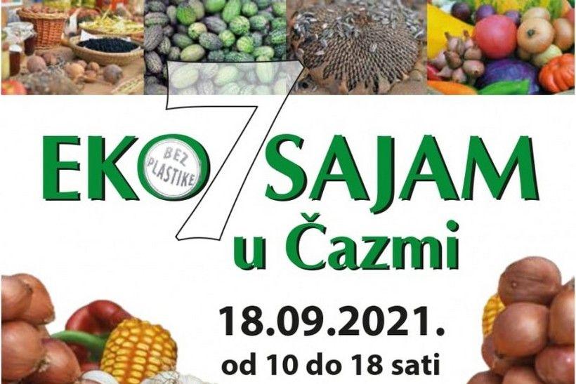 7. eko sajam u Čazmi okuplja proizvođače ekoloških proizvoda iz cijele Hrvatske