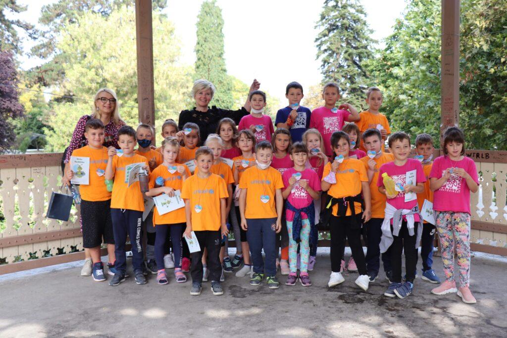 Europski tjedan mobilnosti u Koprivnici počeo izložbom dječjih radova u parku u paviljonu