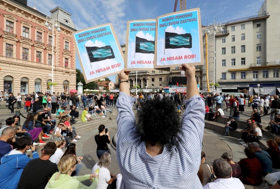 Festival slobode: Okupljeni glasno izrazili nezadovoljstvo mjerama i cijepljenju
