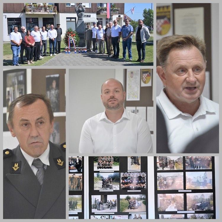 🖼️ U Dubravi otvorena izložba ratnih fotografija 51. samostalne bojne