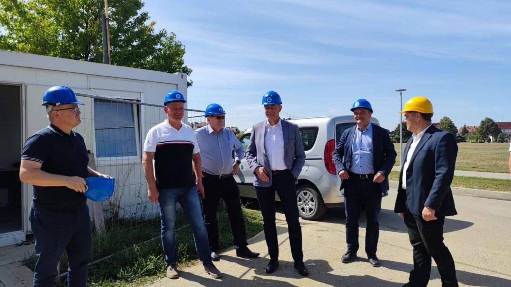 Župan Darko Koren obišao radove na Strukovnoj školi Đurđevac u sklopu županijskog Centra kompetentnosti