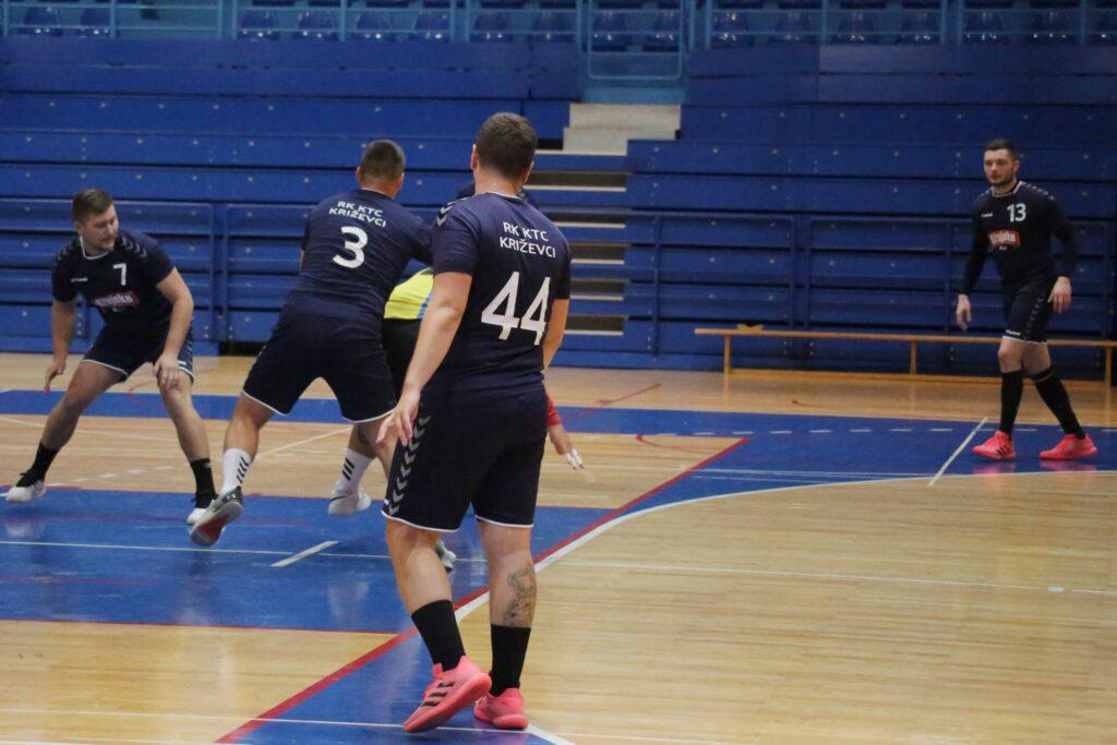 RUKOMET 1. HRL SJEVER 4. KOLO Treća pobjeda Križevčana u prvenstvu i vodstvo na ljestvici