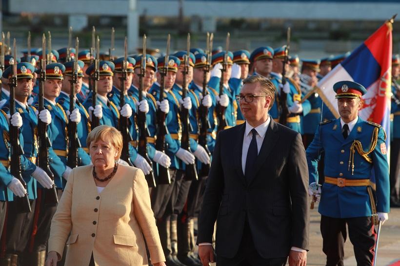 Merkel u Beogradu: Prijem zapadnobalkanskih zemalja je strateški cilj EU, ali predstoji dug put