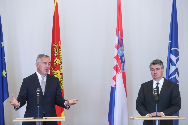 Đukanović u Zagrebu: 'Srpski svijet' umanjenica je za velikosrpsku politiku