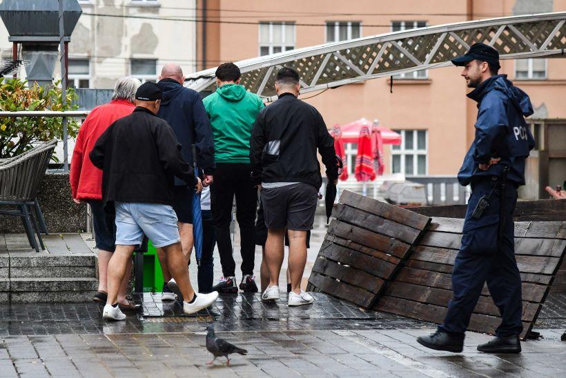 Sukob navijača Dinama i West Hama ispred kafića, o svemu se oglasila policija
