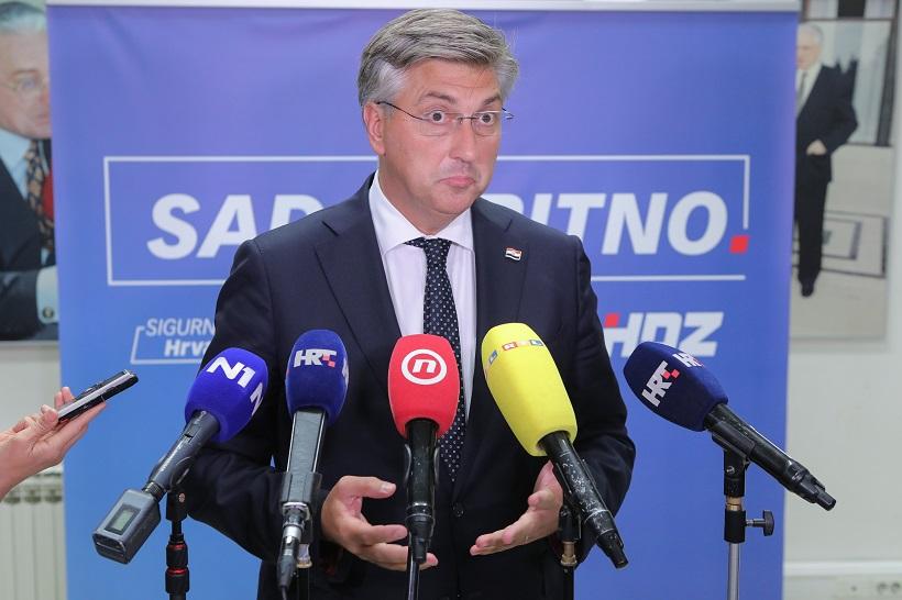 Plenković objasnio zašto su Covid potvrde uvedene: 'Jedino zbog zaštite zdravlja građana'