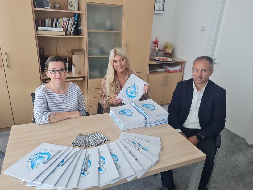 Besplatne bilježnice osigurane svim osnovnoškolcima na području obuhvata u projektu Aglomeracija Koprivnica