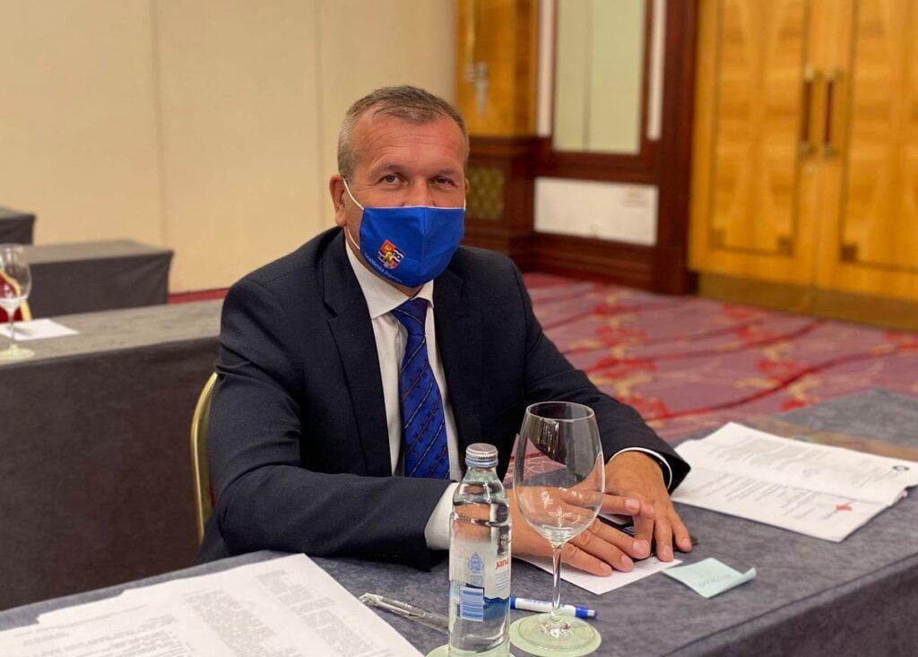 Župan Stričak na kolegiju župana; Prioritet je uspostava kvalitetnog javnog linijskog prijevoza putnika