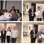 [FOTO] Gradonačelnik Mario Rajn upriličio prijem za višestruke dobrovoljne darivatelje krvi; Karlo Jandrlić darovao krv čak 125 puta
