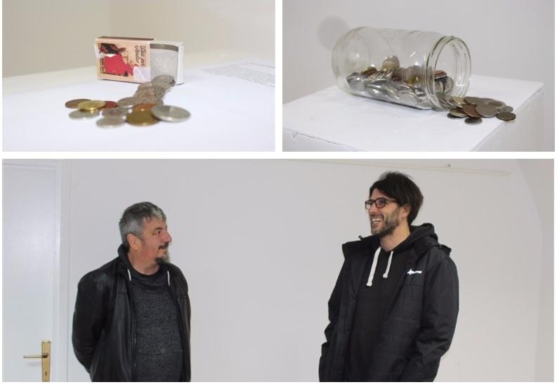 """🖼️ 6. SUFFEST """"Emotivne kovanice"""" izložene u križevačkoj Galeriji K2"""