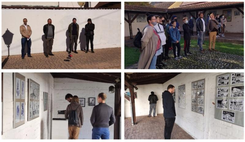 🖼️ 6. SUFFEST Damir Benčak, IvanIvanović i Saša Ištok pop-up izložbom predstavili svoje ilustracije i crteže