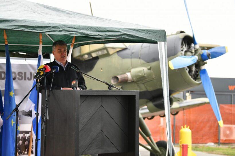 Milanović u Slunju: Vi ste prije svega hrvatska vojska, a onda i u sastavu NATO-a