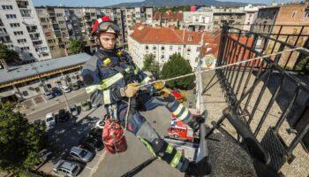 [VIDEO] Alen Hertl, vatrogasca za visinke radove: 'Slobodnim penjanjem bavim se od 18. godine'