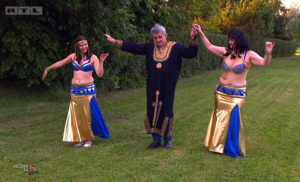 Stanko je prvi domaćin koji je goste dočekao u haljini: 'Izgledao je kao faraon!'