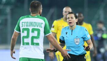 EL Poraz Dinama u Beču, sudila Ukrajinka Katerina Monzul, bila je to njezina druga utakmica grupne faze u karijeri
