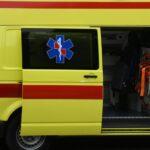 Automobilom završila na krovu; pružena joj je medicinska pomoć