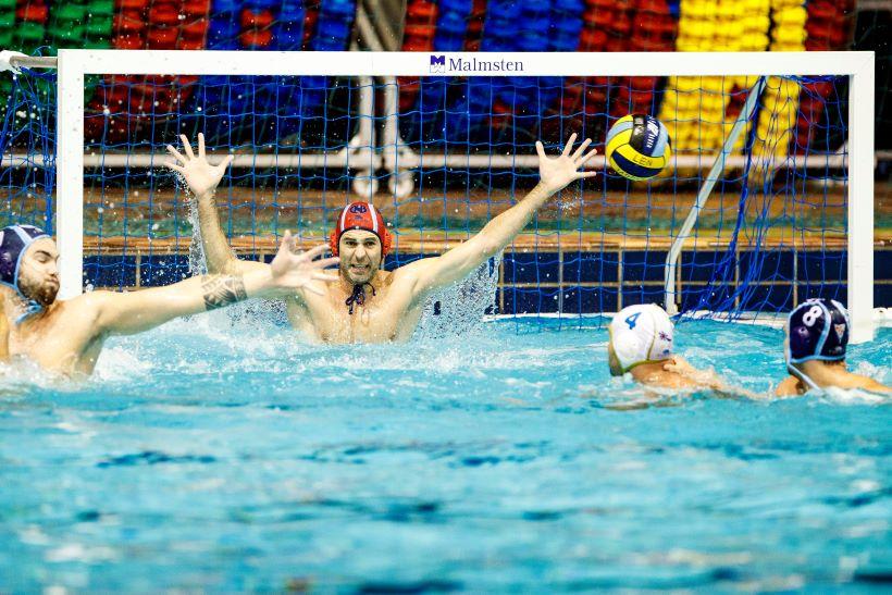 Prvenstvo Hrvatske vaterpolo: Mladost poražena, Splićani dominirali