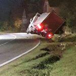 Policija utvrdila kako je došlo do izlijetanja kamiona kod Žabna