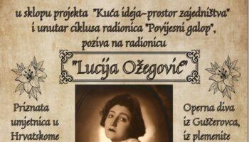 """Povijesno društvo Sveti Petar Orehovec organizira radionicu na temu """"Lucija Ožegović"""""""