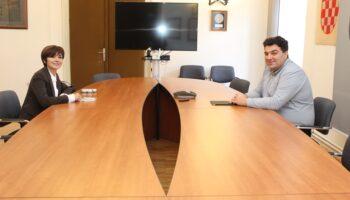 Gradonačelnik Rajn održao radni sastanak s novoizabranom dekanicom VGUK dr.sc. Marcelom Andreatom-Koren