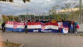 Prigorski navijači u Beču