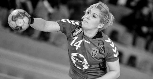 Preminula rukometašica u 38. godini života, jednu sezonu igrala je u Koprivnici