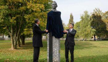 Milanović i Pahor otkrili spomenik Ljudevitu Gaju