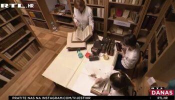 HRVATSKI RESTAURATORI U AKCIJI  Spasit će čak 30.000 starih knjiga neprocjenjive vrijednosti